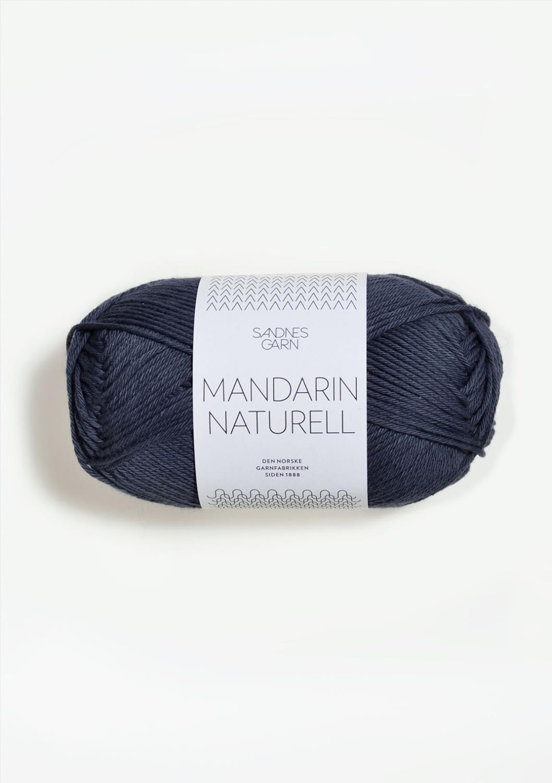 MANDARIN NATURELL, mørk gråblå 6061