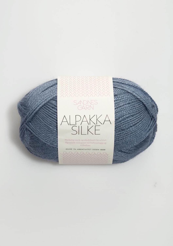 ALPAKKA SILKE JEANSBLÅ 6052