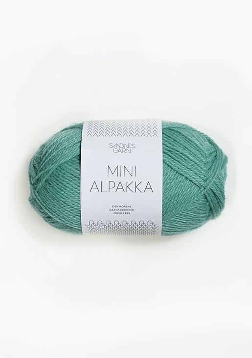 MINI ALPAKKA Sjøgrønn 7533