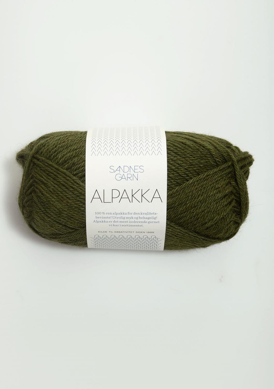 ALPAKKA Mosegrønn 9573