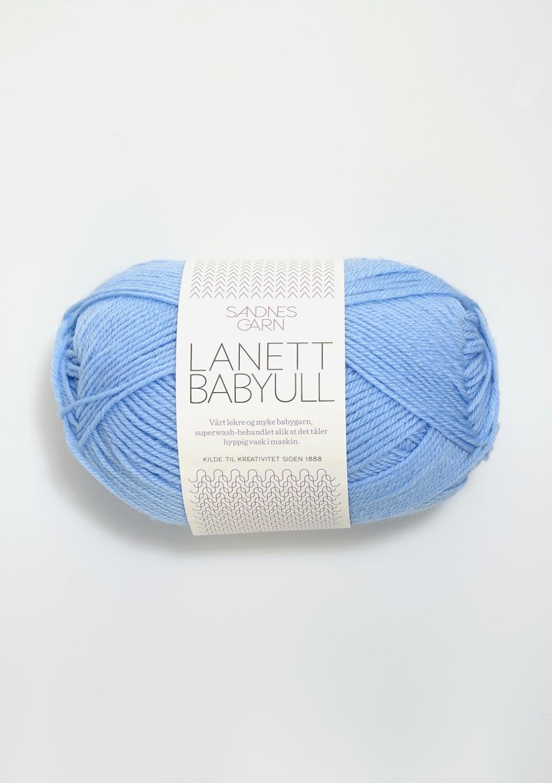 BABYULL LANETT Lys Blå 5904