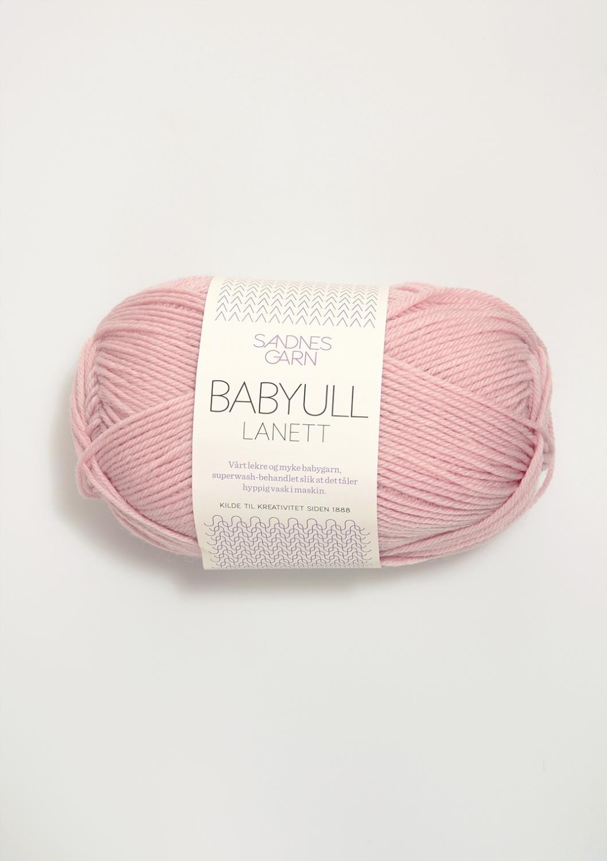 BABYULL LANETT Pudder Rosa 4312