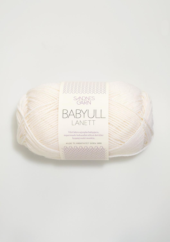 BABYULL LANETT Hvit 1001