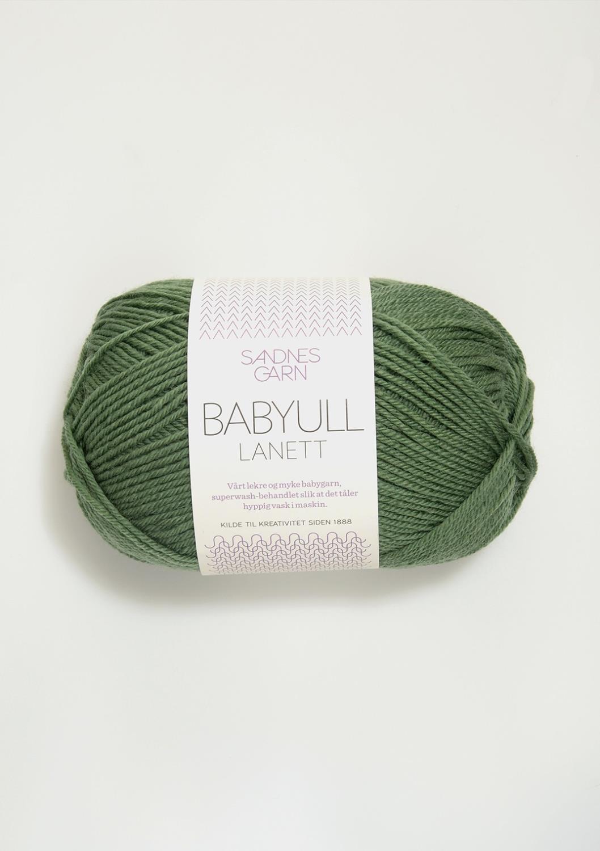 BABYULL LANETT Grønn 8543