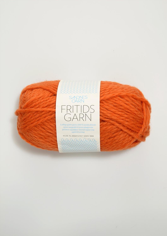 FRITIDSGARN Oransje 3326