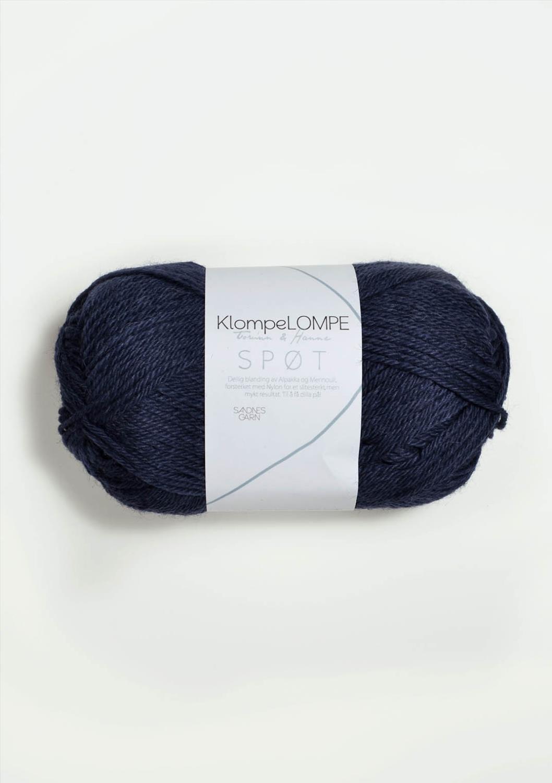 KLOMPELOMPE SPØT Midnattsblå 6081