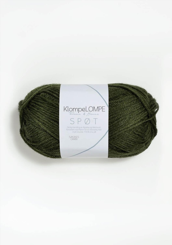 KLOMPELOMPE SPØT Mosegrønn 9573