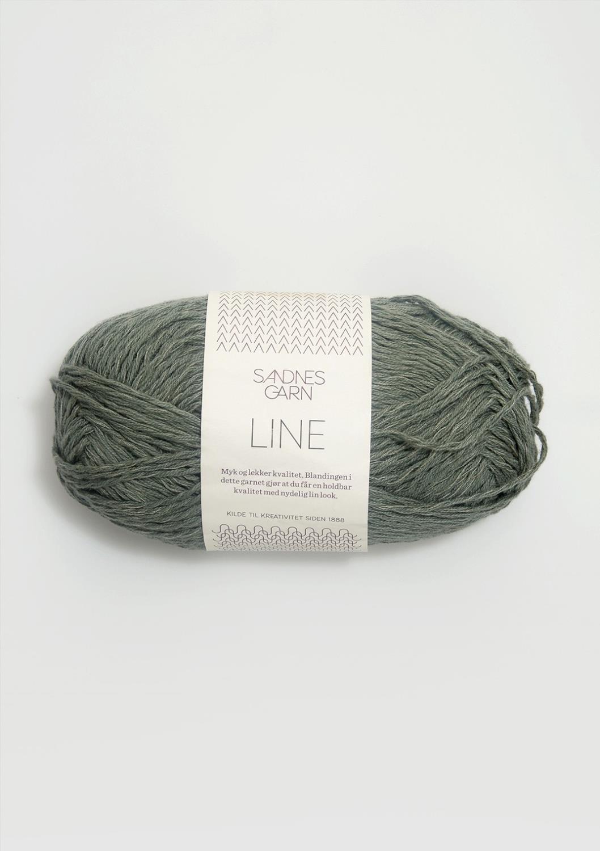 LINE Støvet Grønn 8561