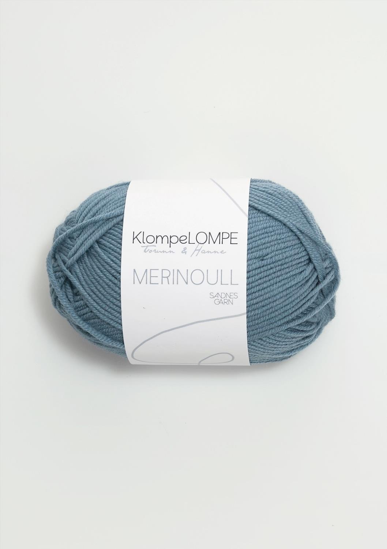 KLOMPELOMPE MERINOULL Jeansblå 6033