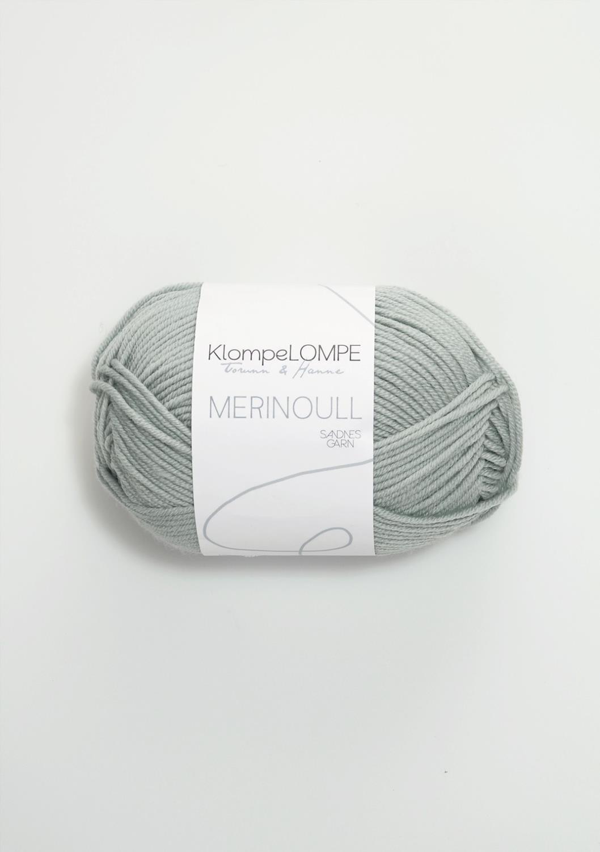 KLOMPELOMPE MERINOULL Lys Blåpetrol 6521