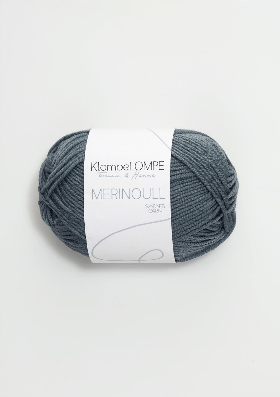 KLOMPELOMPE MERINOULL Blågrønn 6571