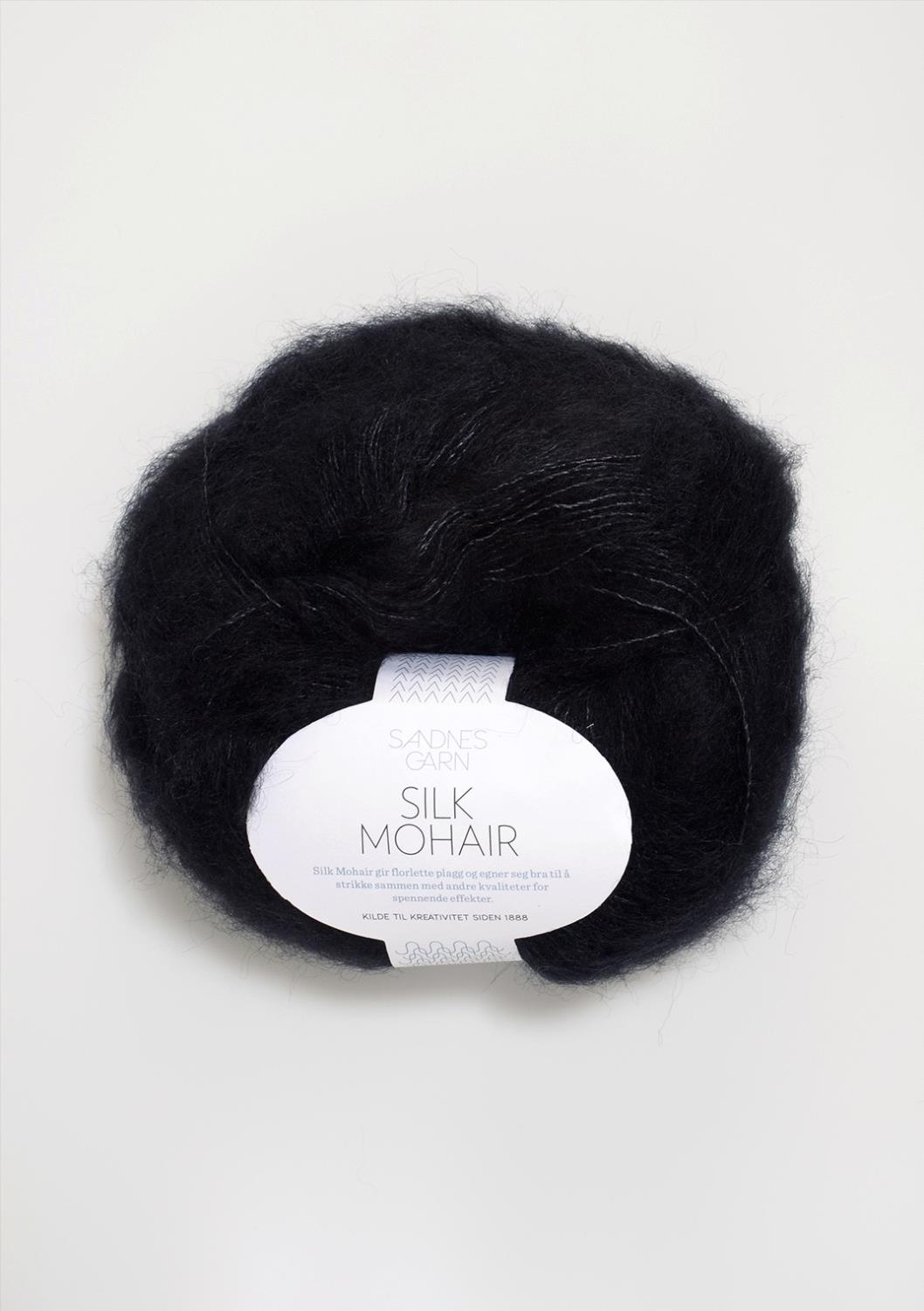 SILK/MOHAIR Sort 1099