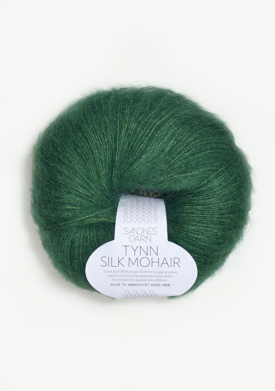 SILK/MOHAIR TYNN Smaragd 7755