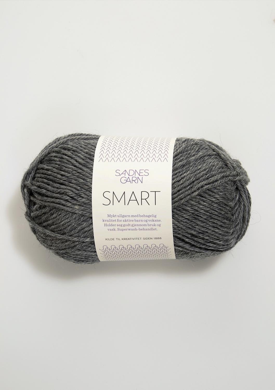 SMART  Mørk Gråmelert 1053