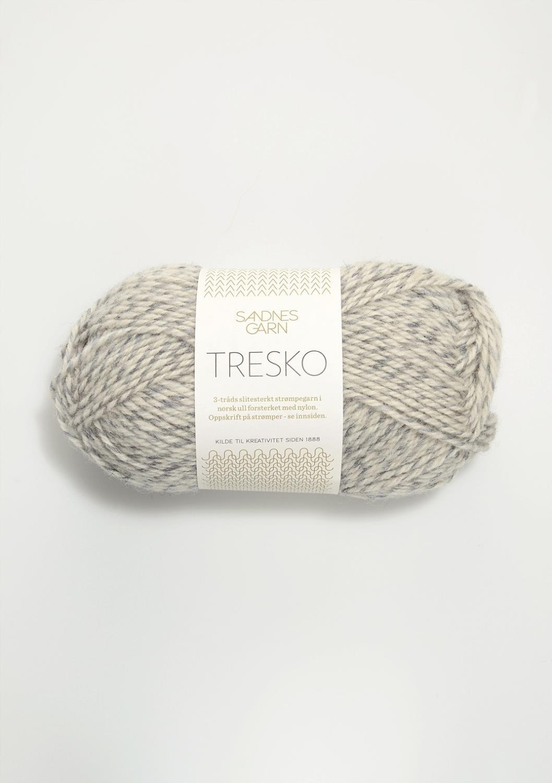 TRESKO Grå/Hvit 1022