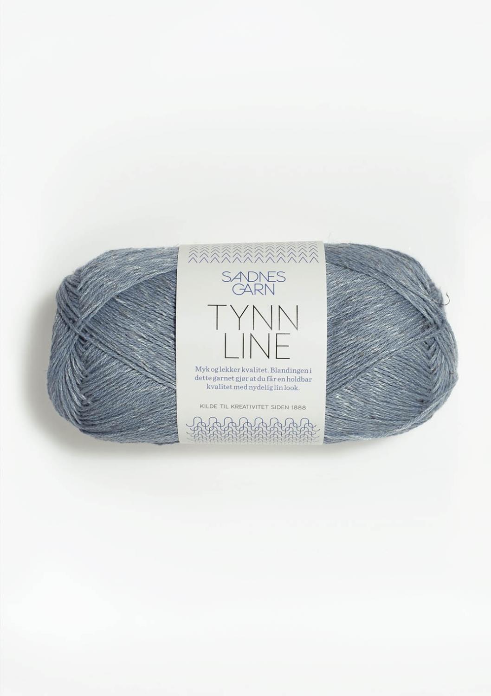 Tynn Line Isblå 6531