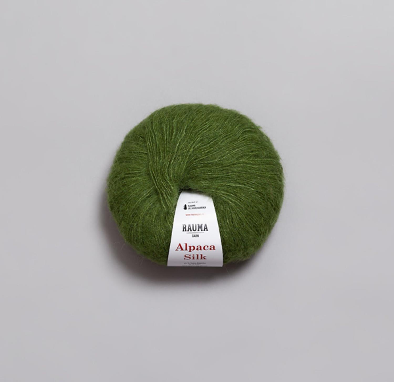 ALPACA SILK Grønn 5339