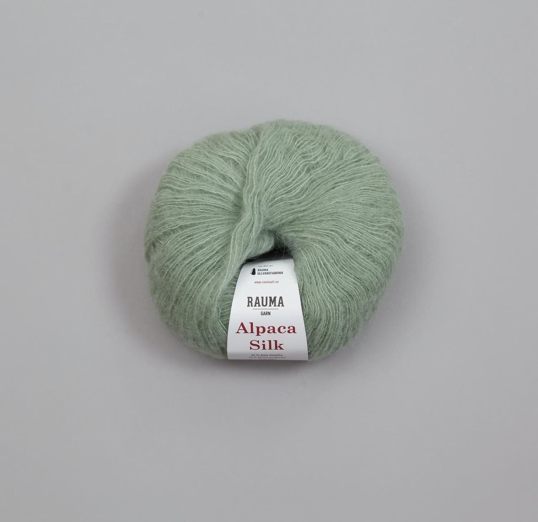 ALPACA SILK Jadegrønn 5304