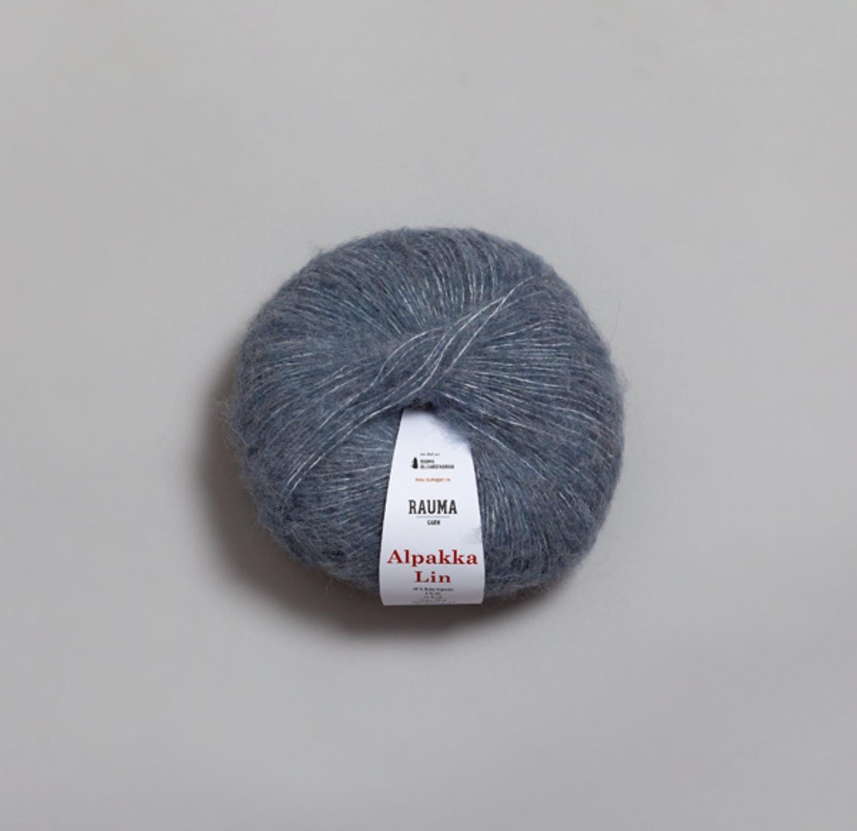 ALPAKKA LIN Jeansblå 6555