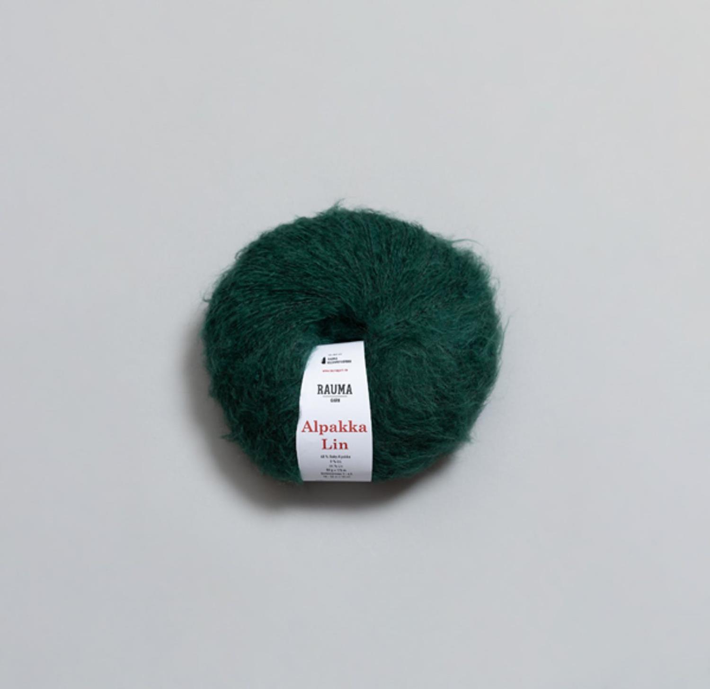 ALPAKKA LIN Smaragdgrønn 2385