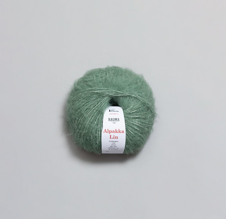 ALPAKKA LIN Jadegrønn 1364