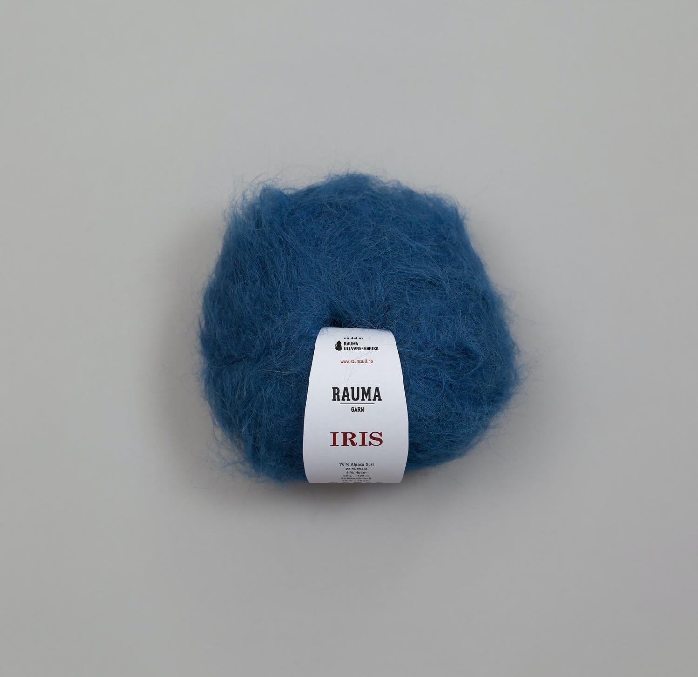 IRIS ALPAKKA Blå 2425