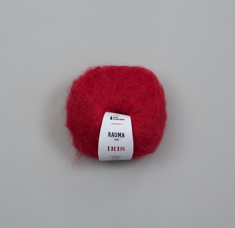 IRIS ALPAKKA Rød 9032