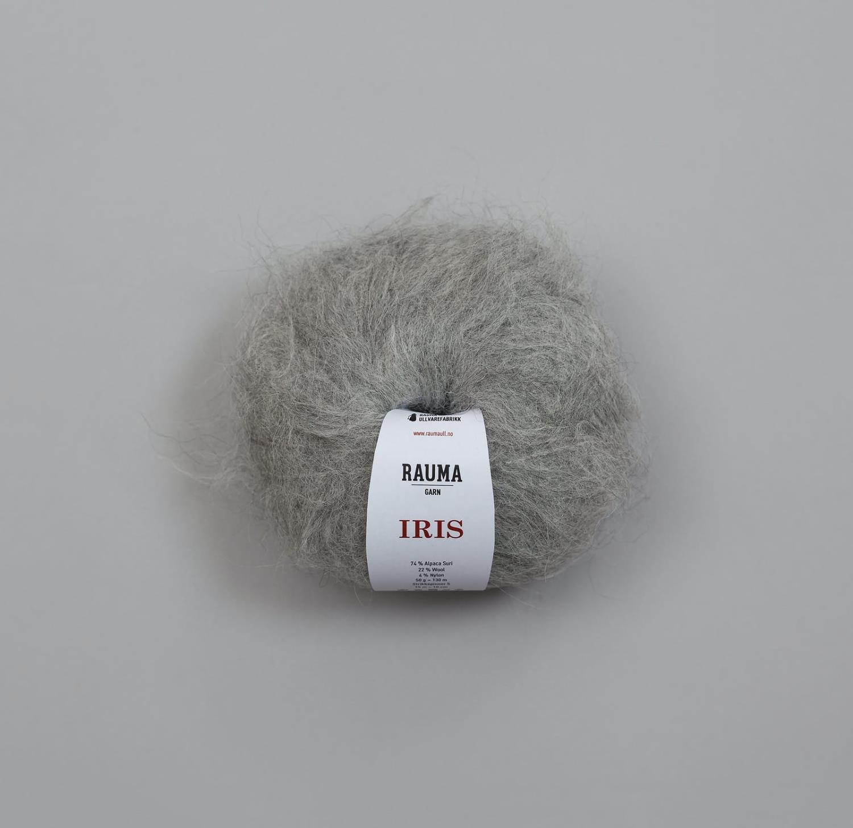 IRIS ALPAKKA Lys Grå Z922