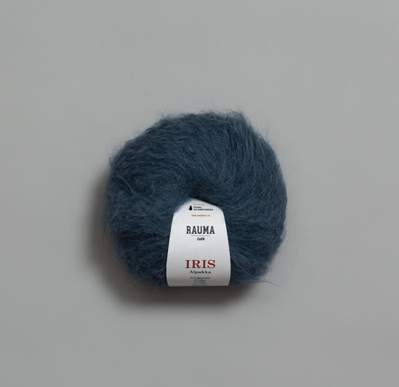IRIS ALPAKKA Gråblå 5628