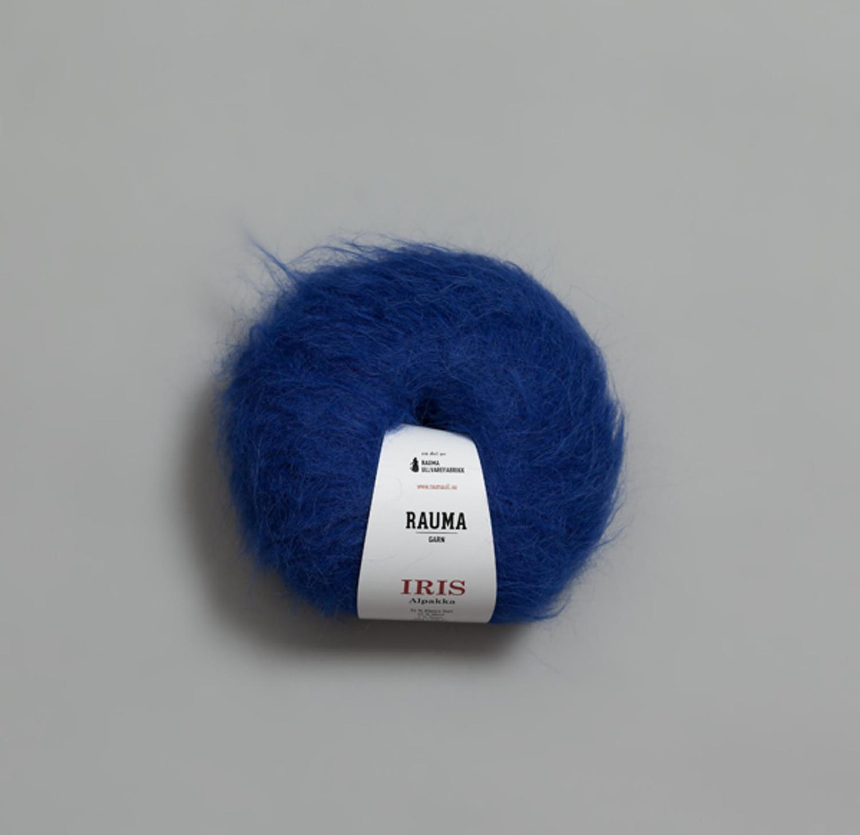 IRIS ALPAKKA Blå 4922