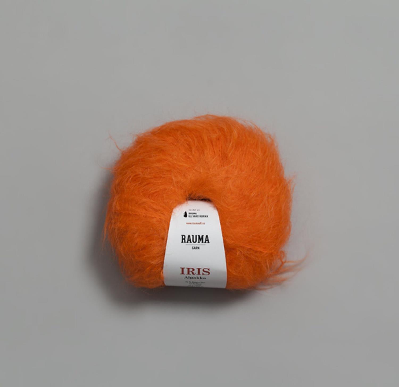 IRIS ALPAKKA Oransje 6591