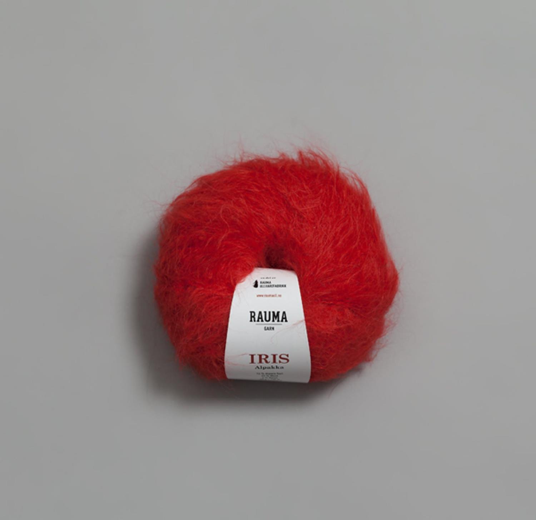 IRIS ALPAKKA Rød 0259