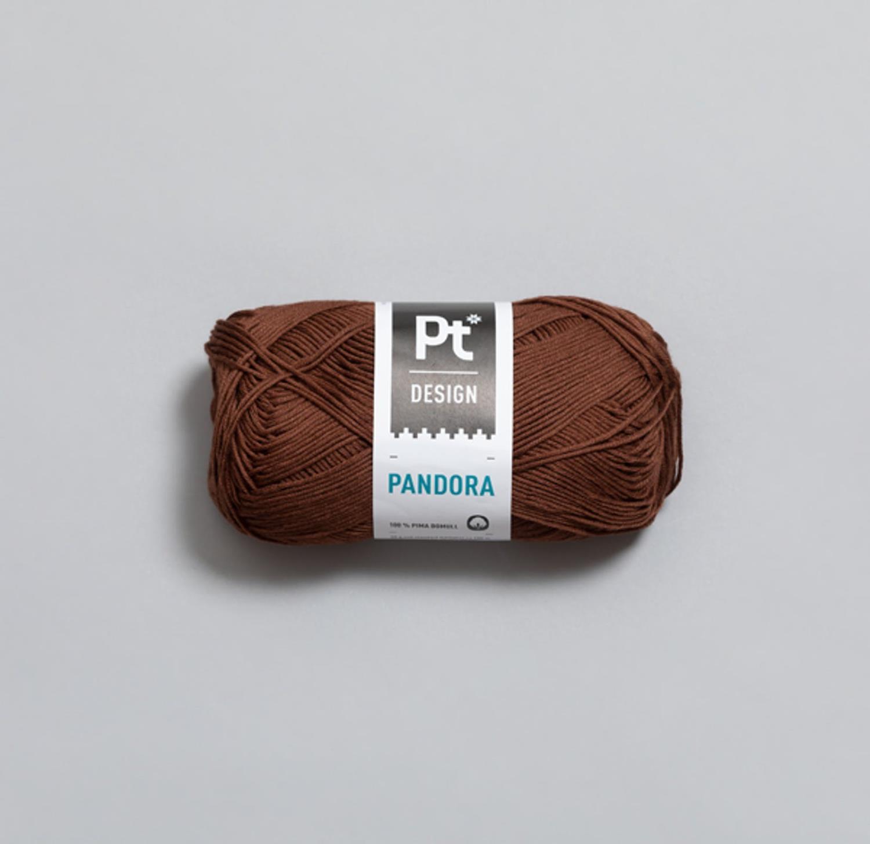 PT PANDORA Rødbrun 242