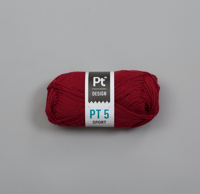 PT5 SPORT Mørk Rød 547