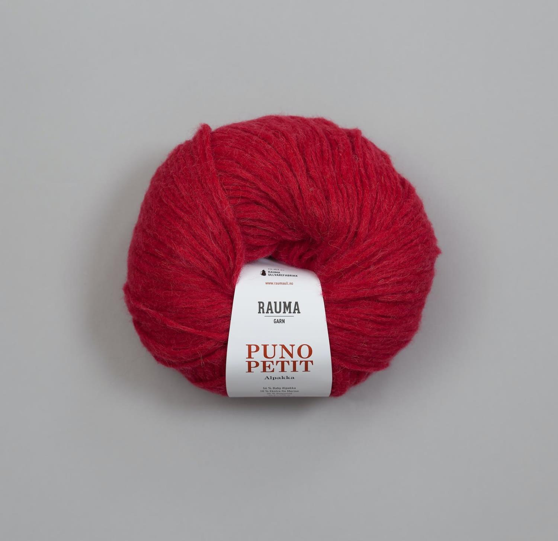 PUNO PETIT Bringebærrød 877