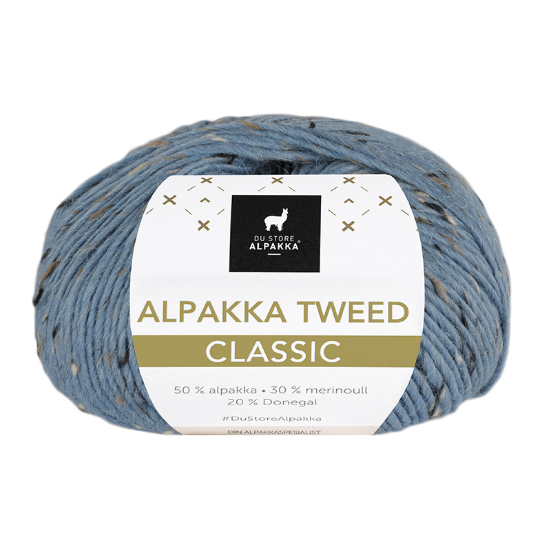ALPAKKA TWEED CLASSIC Lys Denim 125