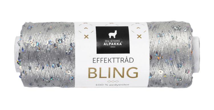 BLING EFFEKTTRÅD Grå/Sølv 3004