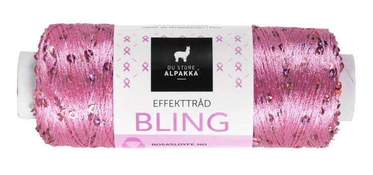 BLING EFFEKTTRÅD Rosa Sløyfe 3010