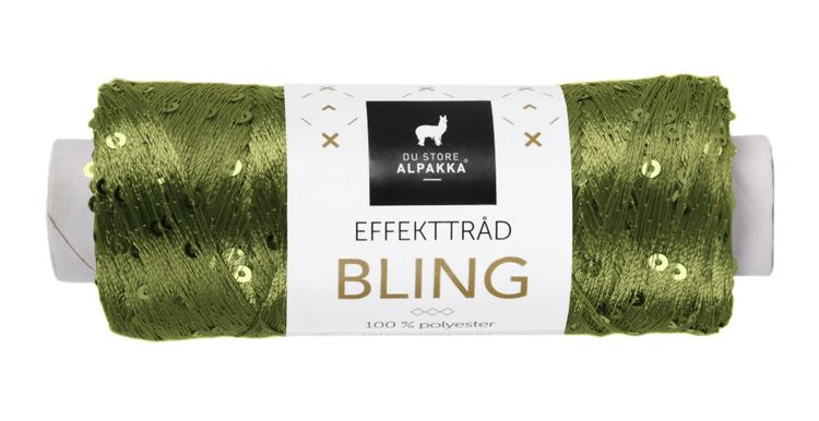 BLING EFFEKTTRÅD Grønn 3007