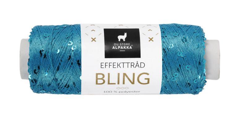 BLING EFFEKTTRÅD Turkis 3009