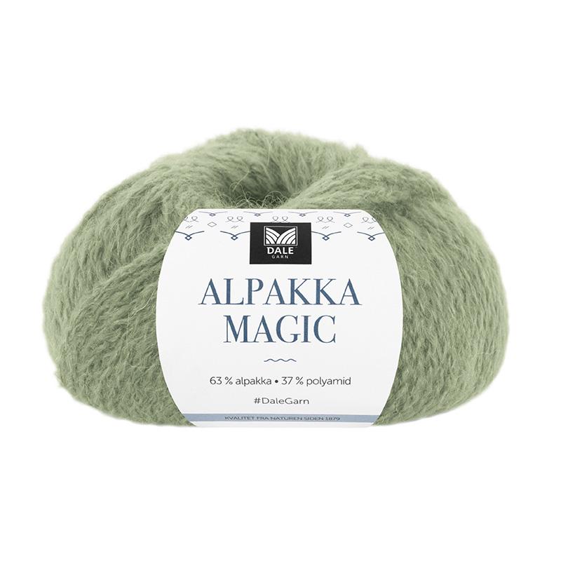 ALPAKKA MAGIC Jadegrønn 328
