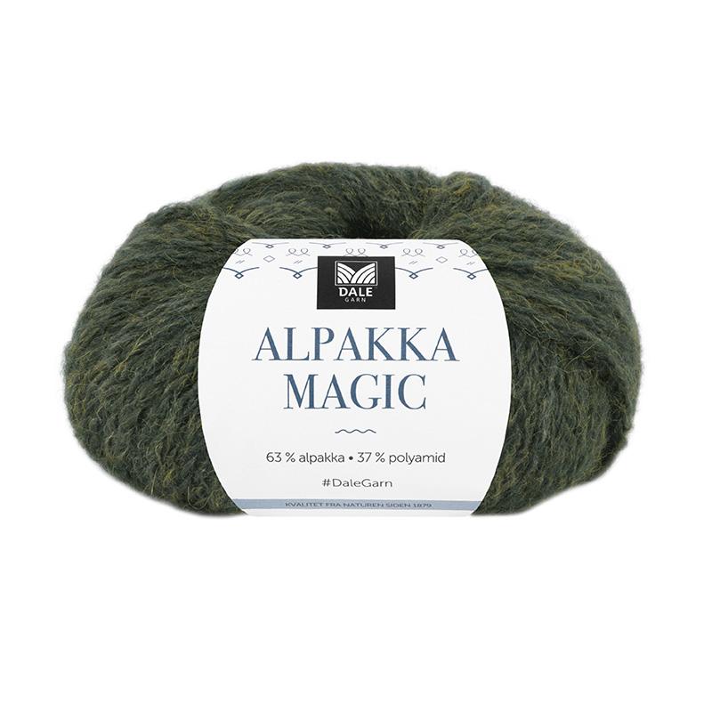 ALPAKKA MAGIC Eføygrønn 314