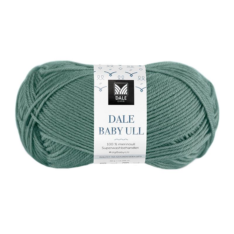 BABY ULL Mørk Jadegrønn 8529