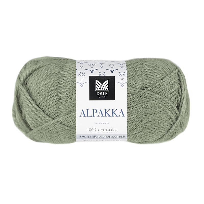 ALPAKKA Støvet Jadegrønn 9922