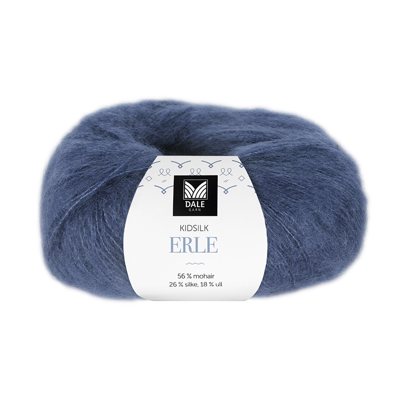 KIDSILK ERLE Jeansblå 5853