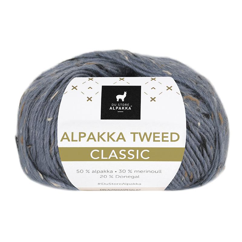 ALPAKKA TWEED CLASSIC Blå 104