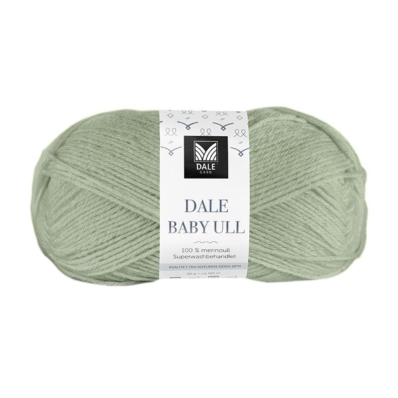 BABY ULL Dus Jadegrønn 8520