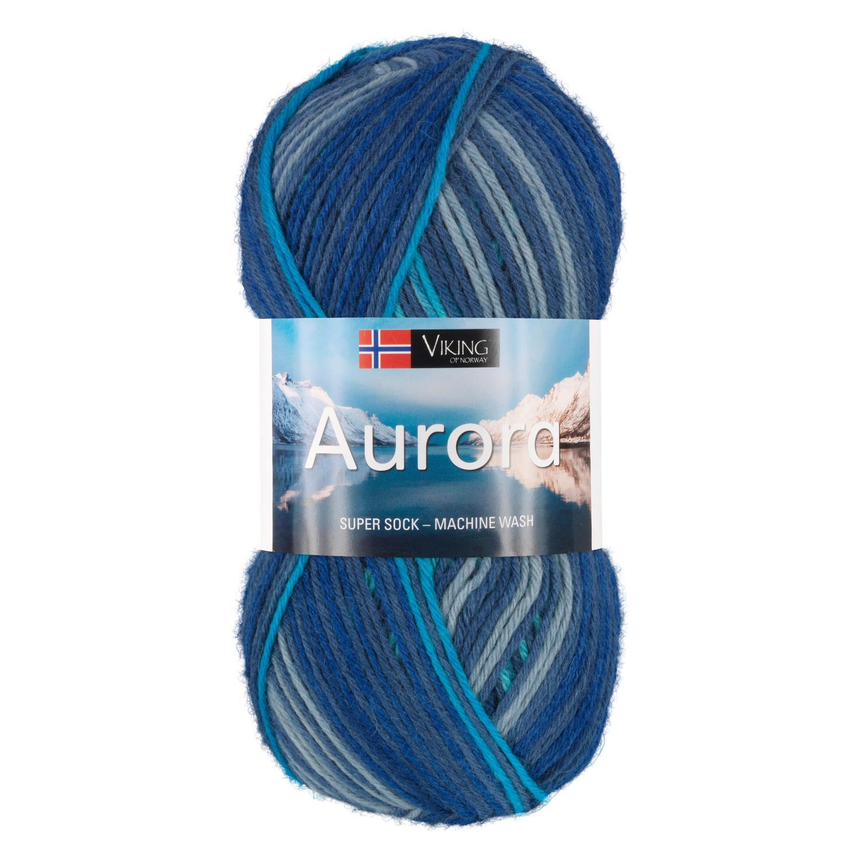 AURORA Blåmelert 625