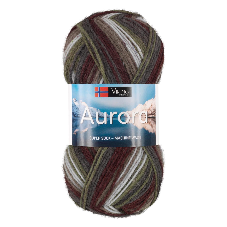 AURORA Grønn/Burgunder 660