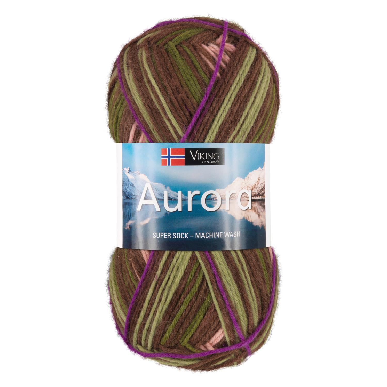 AURORA Brun/Grønn 665